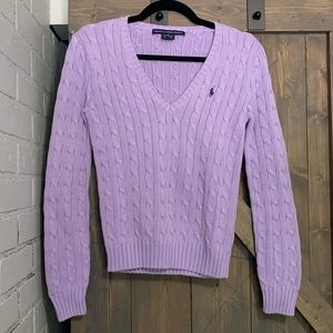 Ralph Lauren Sport cable knit sweater